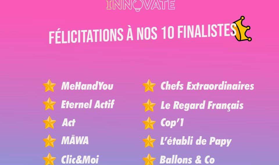 Finalistes concours 2021